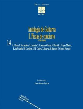 Antología de guitarra I