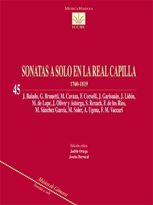 Sonatas a solo en la Real Capilla, 1760-1819