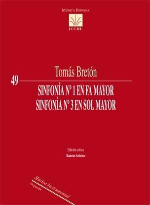Sinfonía nº 1 en Fa mayor / Sinfonía nª 3 en Sol mayor