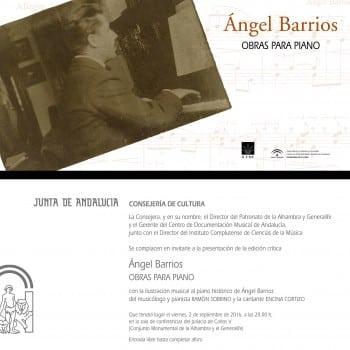 Invitacion RRSS presentacion edicion ANGEL BARRIOS. OBRAS PARA PIANO_ICCMU-PAG